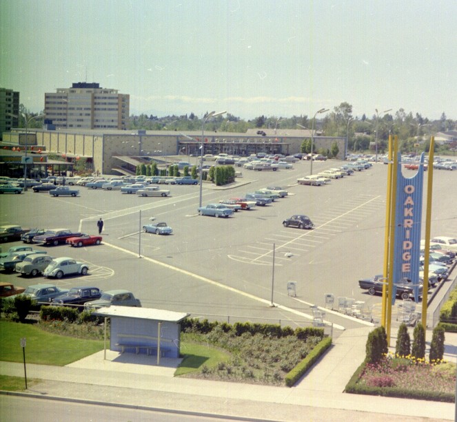 Oakridge Mall in the 1960s
