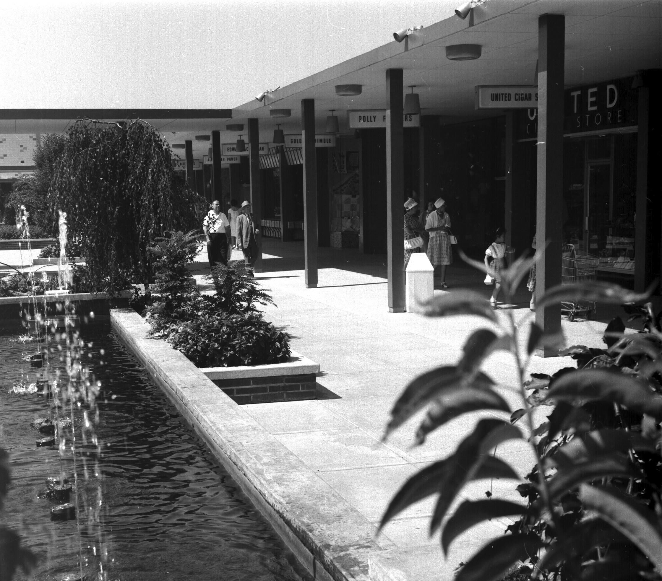 Oakridge Mall in the 60s u2013